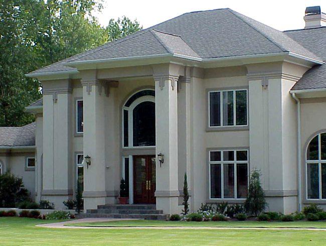 Stucco Columns